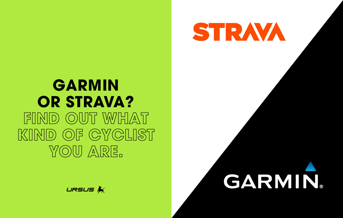 Garmin or Strava? Find out what kind of cyclist you are