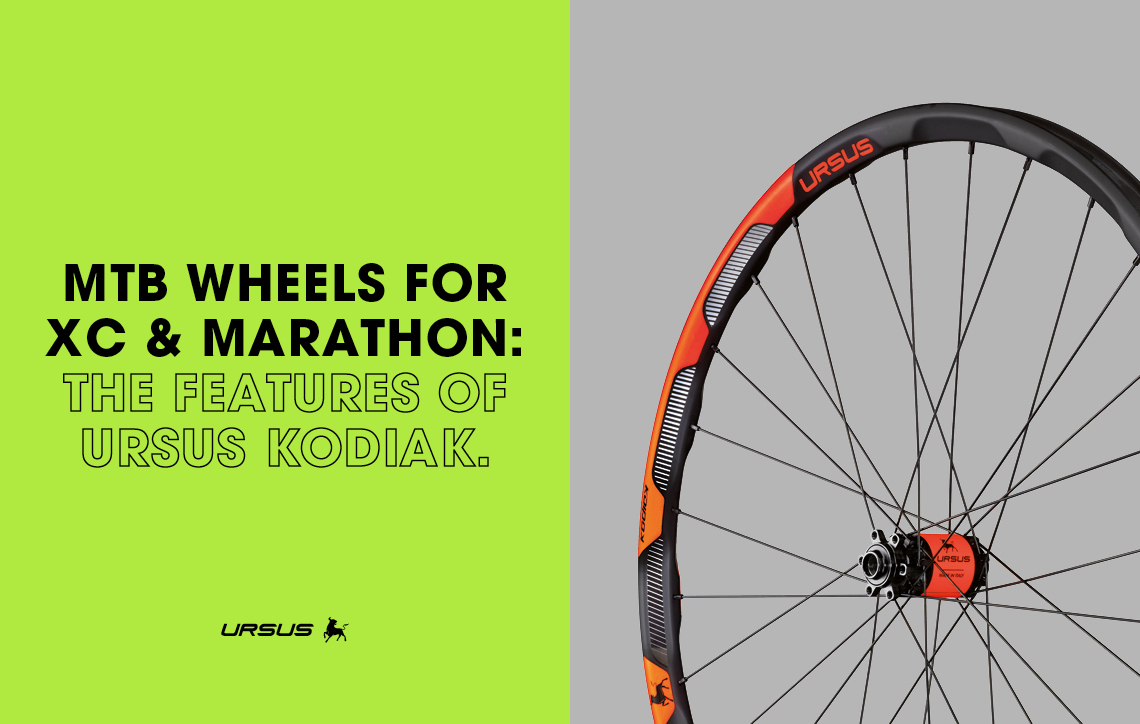 MTB wheels for XC and marathon: the features of Ursus Kodiak