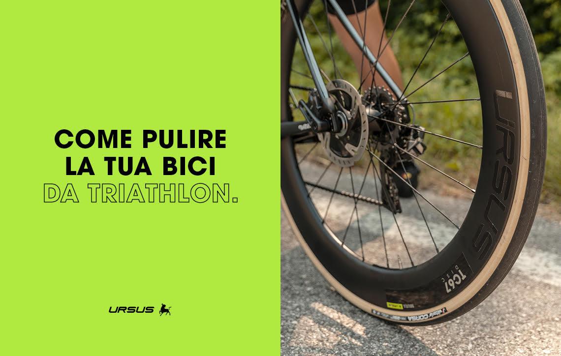 Come pulire la tua bici da triathlon