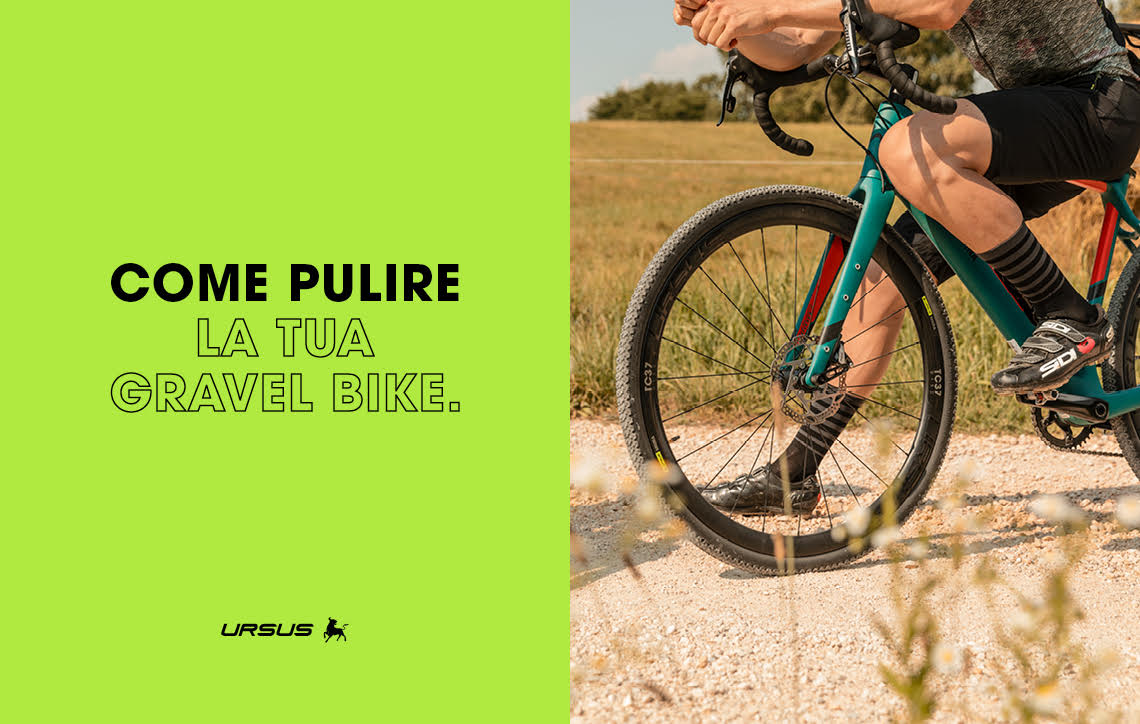 Come pulire la tua gravel bike