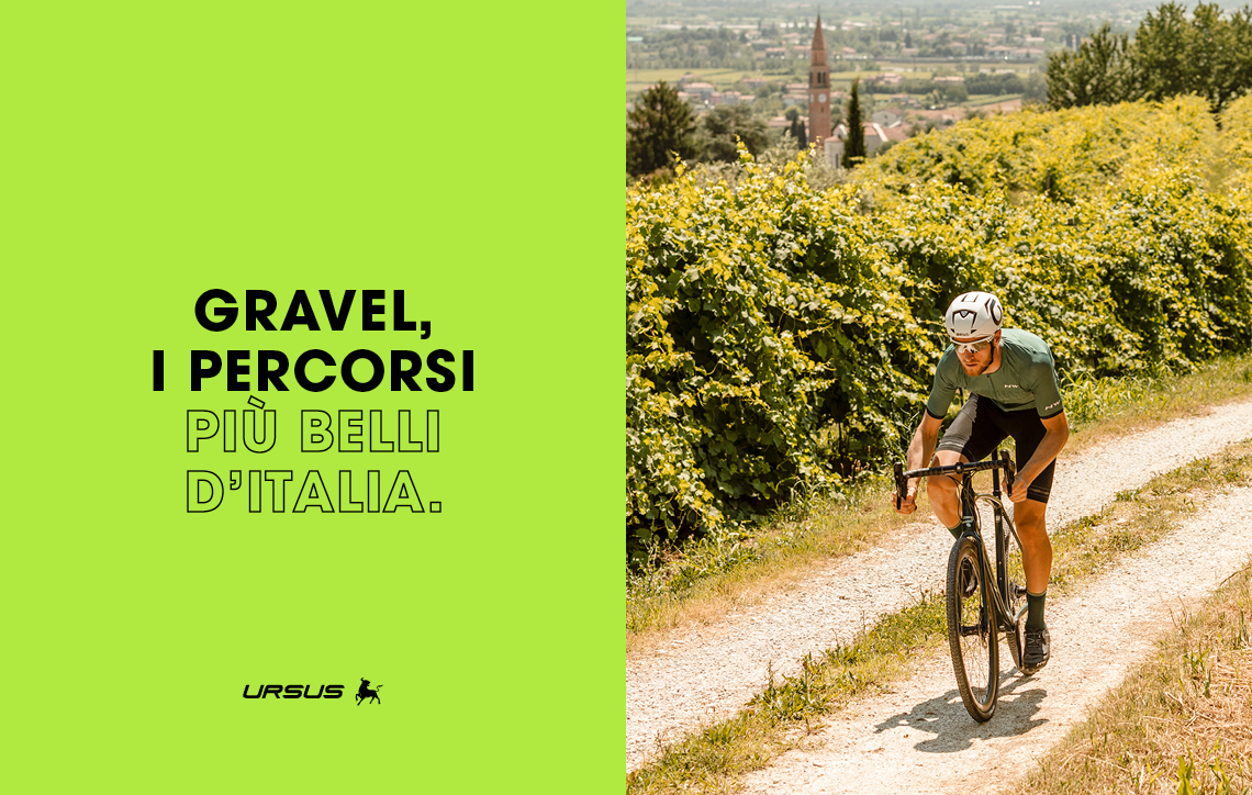 Gravel, i percorsi più belli d'Italia