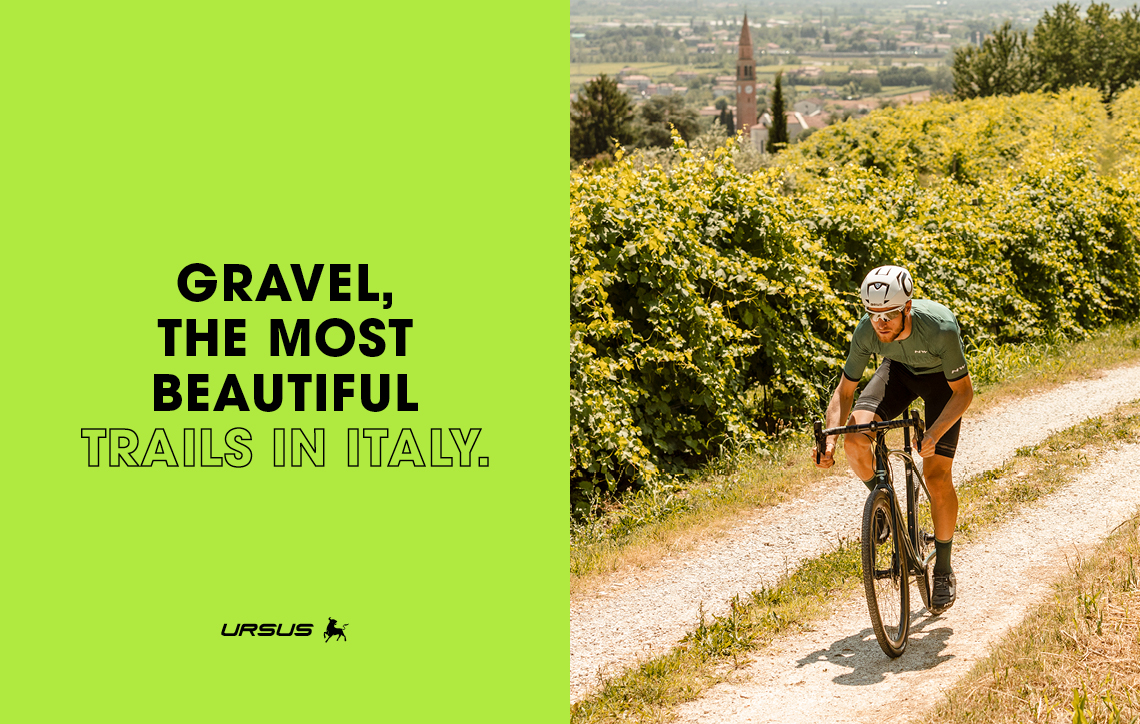 Gravel, the most beautiful trails in Italy