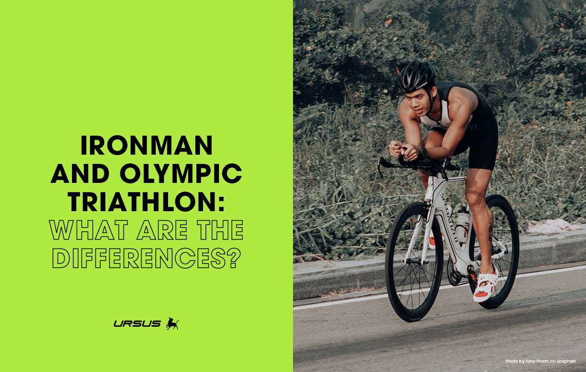 Ironman and Olympic Triathlon: what are the differences?