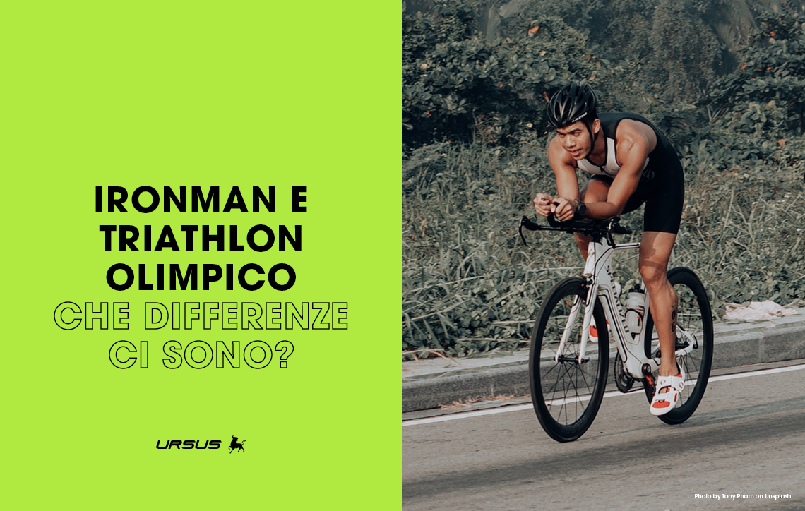 Ironman e Triathlon Olimpico: quali differenze ci sono?
