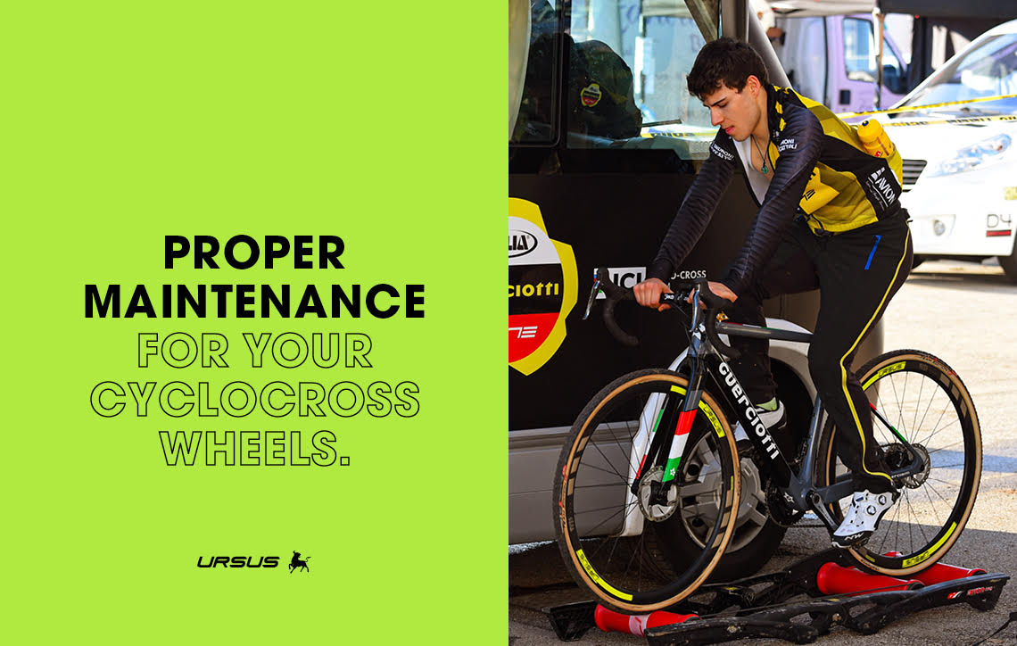 Proper maintenance for cyclocross wheels