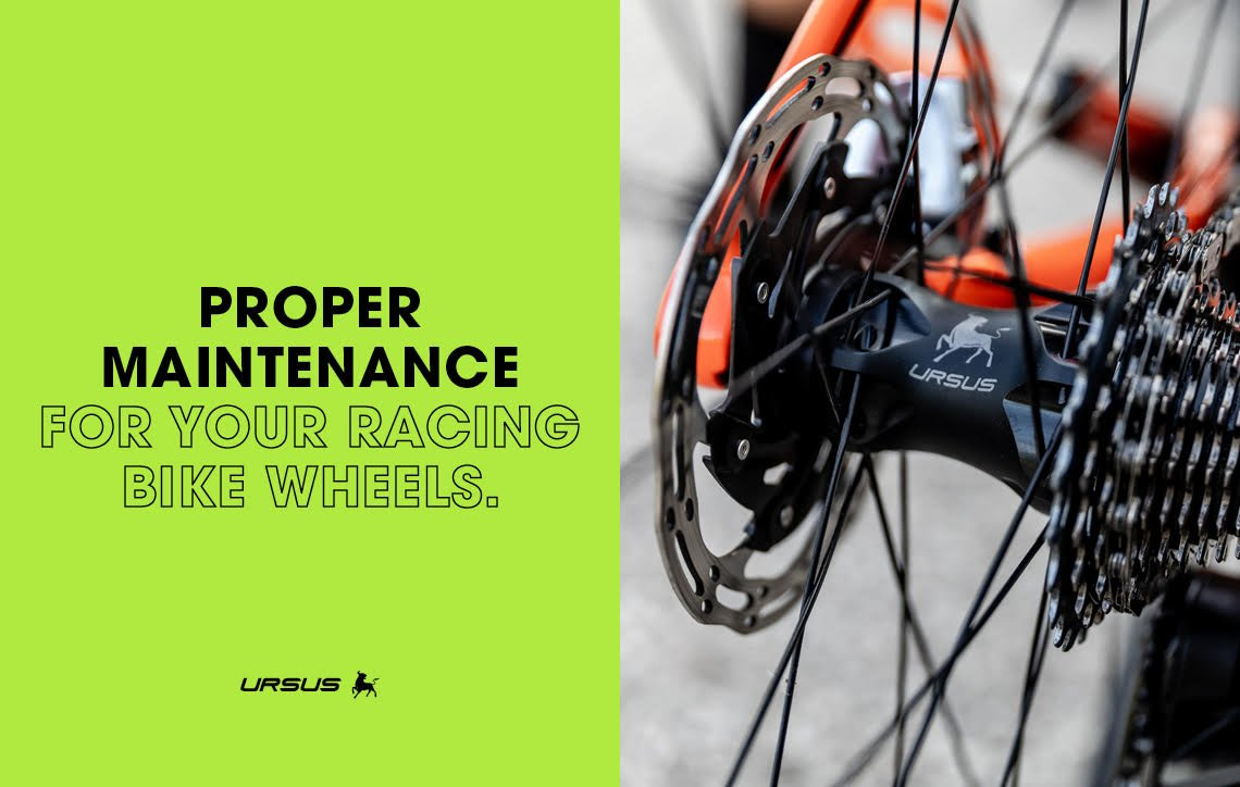 Proper maintenance for your racing bike wheels