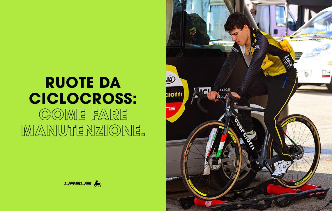 Come fare correttamente manutenzione alle ruote da ciclocross